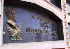 tumba de Hipólito Lázaro