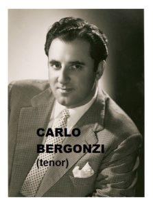 Carlo Bergonzi tenor