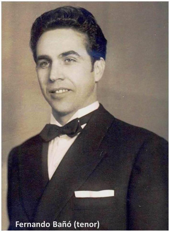 Fernando Bañó Ferrando, tenor lírico spinto
