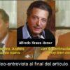 ALFREDO KRAUS HABLA SOBRE SUS CLASES CON EL MTRO. VALENCIANO FRANCISCO ANDRÉS ROMERO